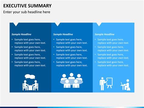 executive summary template powerpoint executive summary powerpoint template sketchbubble