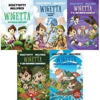 libro wigetta y el antadoto saga libros wigetta nuevos originales 7 libros 270 000 en mercado libre