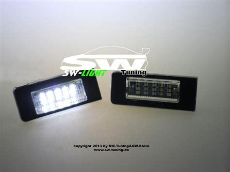Audi Tt 8n Kennzeichenbeleuchtung by Led Kennzeichenbeleuchtung Audi Tt 8n 99 06 Tuning