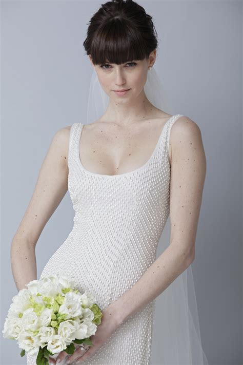 Scoop Wedding Dress by 2013 Wedding Dress By Theia Bridal Gowns Scoop Neck