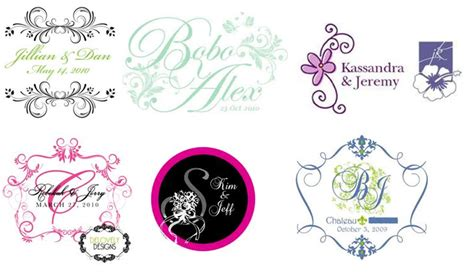 design free wedding logo how to create a fantastic wedding logo design