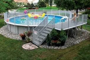 Decorating Ideas Around Above Ground Pool Make It Yours Above Ground Pool Decorating Ideas