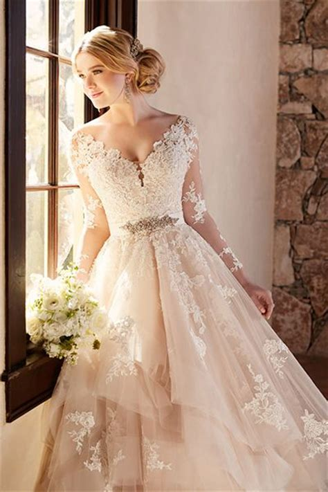 20 wedding gowns for autumn brides 2016 girlshue