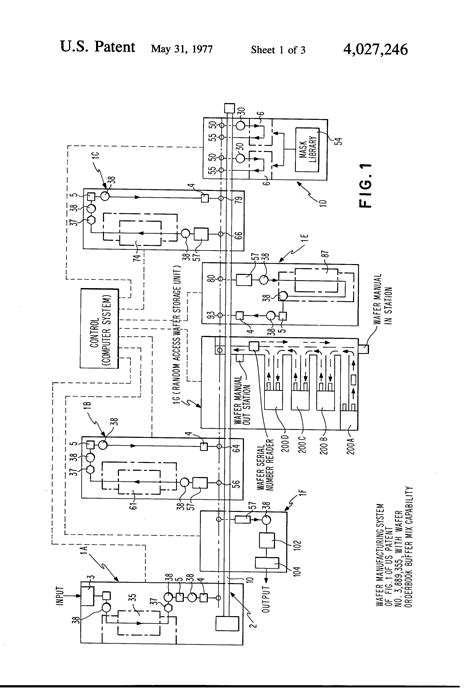how is an integrated circuit manufacture patent us4027246 automated integrated circuit manufacturing system patents