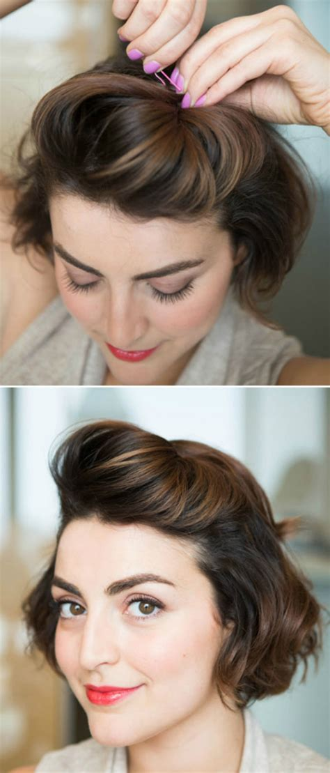 easy formal hairstyles  short hair hairstyle tutorials