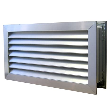 Door Vents Haron 635 X 185mm Aluminium Door Relief Vent Bunnings