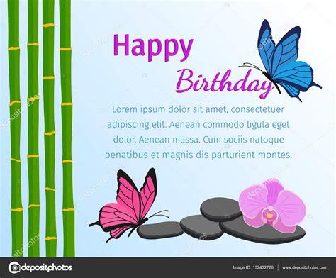 imagenes de cumpleaños con mariposas tarjeta del feliz cumplea 241 os con mariposas en fondo azul