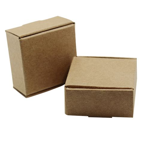 Hult Mba Black Box Package Admission by 150pcs Square Brown Kraft Paper Gift Cardboard Box For