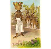 Vintage Bunny Easter Card  Creative Ads And More…
