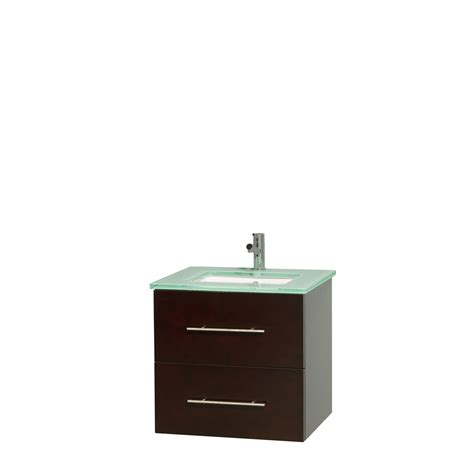 green vanity bathroom wyndham collection wcvw00924sesggunsmxx centra 24 inch