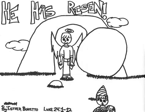 coloring pages jesus has risen free images of the risen jesus coloring pages