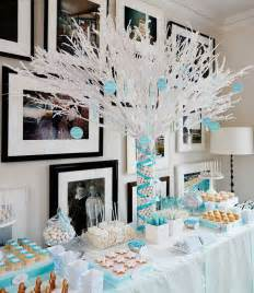 35 pretty winter baby shower ideas - Winter Baby Shower Decorations