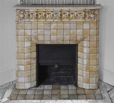 Nouveau Fireplace Tiles by Nouveau