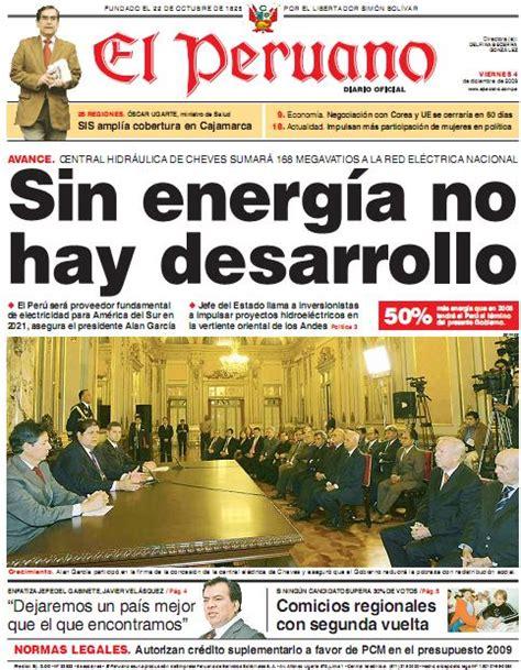 el trome diario peruano diario el peruano 04 12 2009 171 cholo marketing
