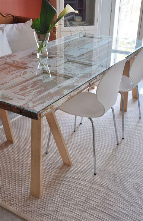 how to a dining table from an door best 25 door tables ideas on door tables