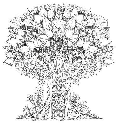 secret garden colouring book canada enchanted forest johanna basford zentangles