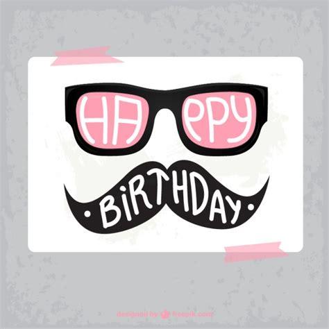 imagenes hipster de feliz cumpleaños tarjeta de cumplea 241 os hipster descargar vectores gratis