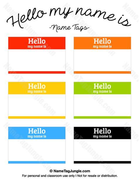 printable name tags hello my name is hello my name is name tags