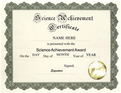 science fair certificates template new calendar template