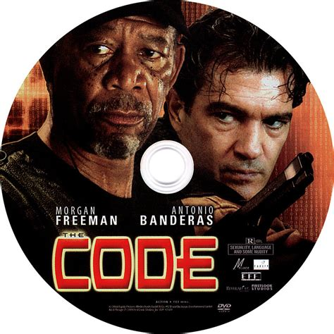 the code the code label scanned dvd labels the code label 001
