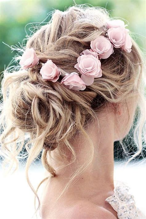 Pretty Wedding Hairstyles For Thin Hair by Bridal Hairstyles 30 Wedding Hairstyles Ideas For Brides