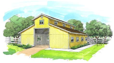 Two Story Garage Plans, Barn & Garage Storage