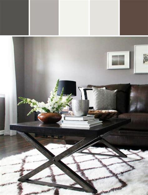 braunes wohnzimmer braune wandfarbe entdecken sie die harmonische wirkung