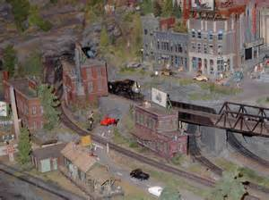 ho model trains images pictures little toy trains ho scale model railroad industrial scene