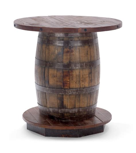 how to a whiskey barrel table fitz reclaimed whiskey barrel table hom furniture
