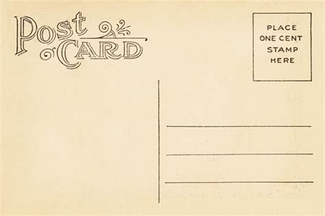strathmore post cards templates vintage postcard back template vintage postca design