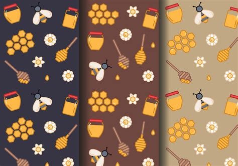 honey pattern vector honey comb free vector art 544 free downloads