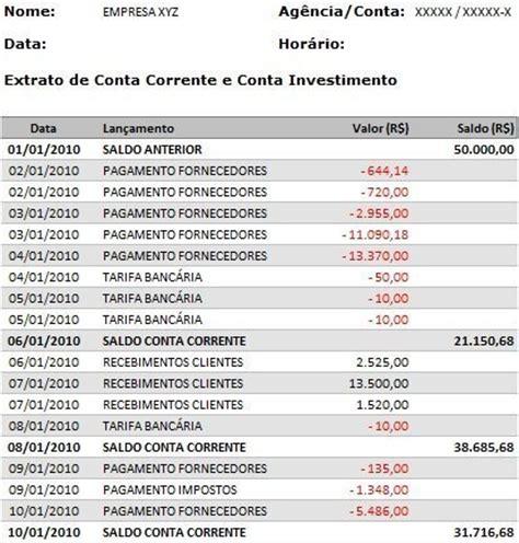 extrato rendimentos banco do brasil entenda seu extrato banc 225 rio cr 233 dito ou d 233 bito