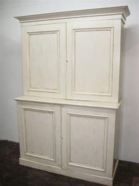 shabby chic victorian pine kitchen cupboard 84473