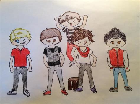 one direction painting one direction fan deviantart www imgkid the