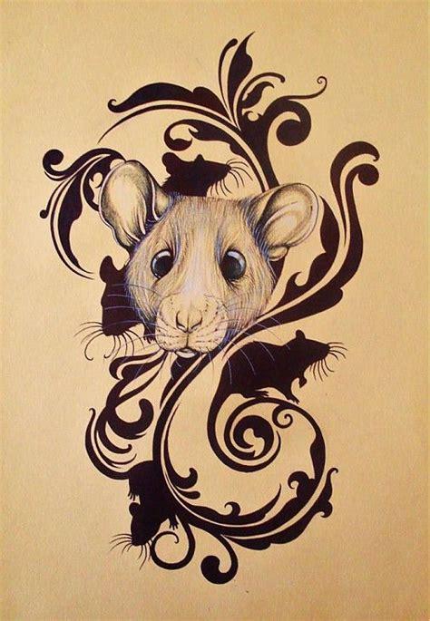 sk tattoo design 5 rats mirik6 sashe sk handmade kresby rat
