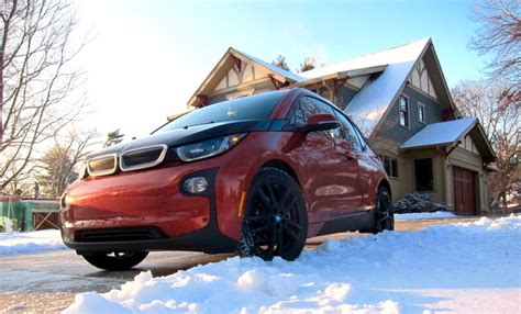 Electric Vehicles Winter Test Drive Bmw I3 Electric Vehicle Winter Update