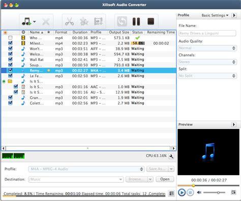 format audio converter mac xilisoft audio converter for mac convert all audio files