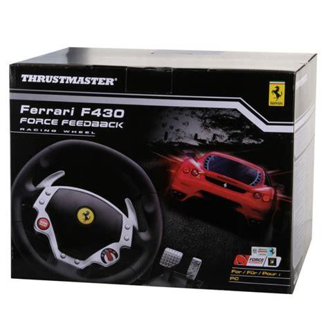 thrustmaster f430 racing wheel thrustmaster f430 feedback racing wheel