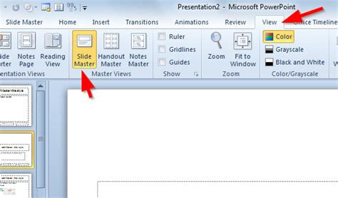 how to create a master template in powerpoint related keywords suggestions for slide master 2010