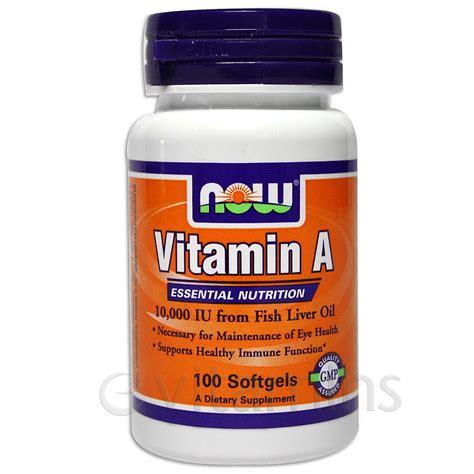 Vitamin Detox Liver by Now Foods Vitamin A 10 000 Iu Fish Liver 100