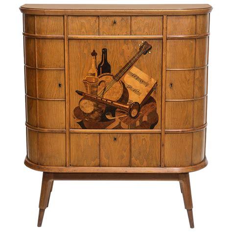 gary rubinstein antiques italian modern ash walnut olivewood mahogany bar