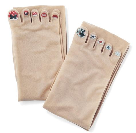 whays the latest in toe nail polish stockings with pre painted toenails are the latest craze