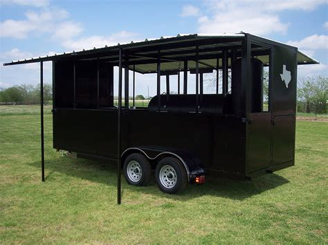 enclosed pit 18 ft enclosed trailer johnson custom bbq smokers