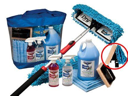 leverage boat wax waterless rv aircraft boat wax mop kit with bug buster
