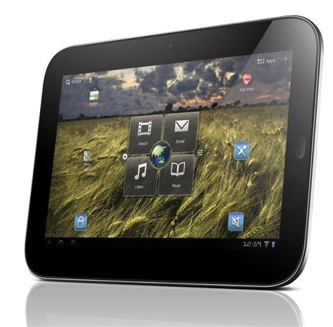 Lenovo Ideapad P1 Tablet Windows 7 lenovo launches the ideapad k1 android tablet in the us liliputing