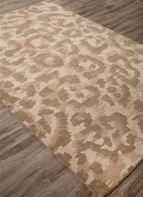 Area Rugs Closeout Jaipur National Geographic Home Tufted Ngt04 Ocelot Oatmeal Aluminum Closeout Area Rug Rugs