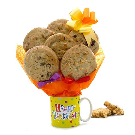 cookie bouquets birthday mug cookie gift bouquet gourmet cookie bouquets
