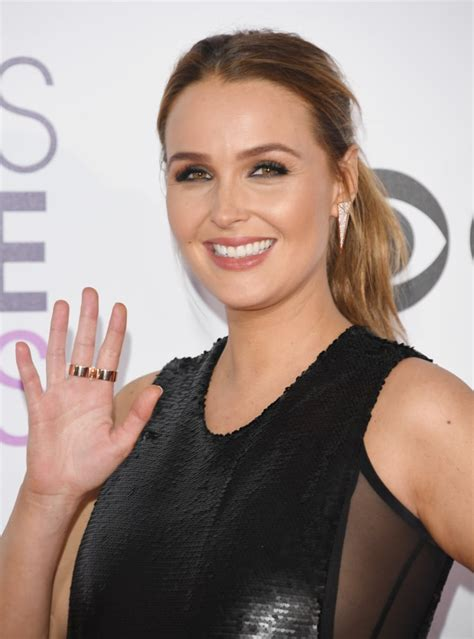 camilla luddington red carpet camilla luddington hair and makeup at people s choice