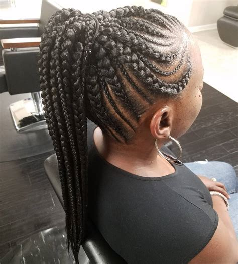 african braids hairstyles pictures ponytail 20 totally gorgeous ghana braids for an intricate hairdo