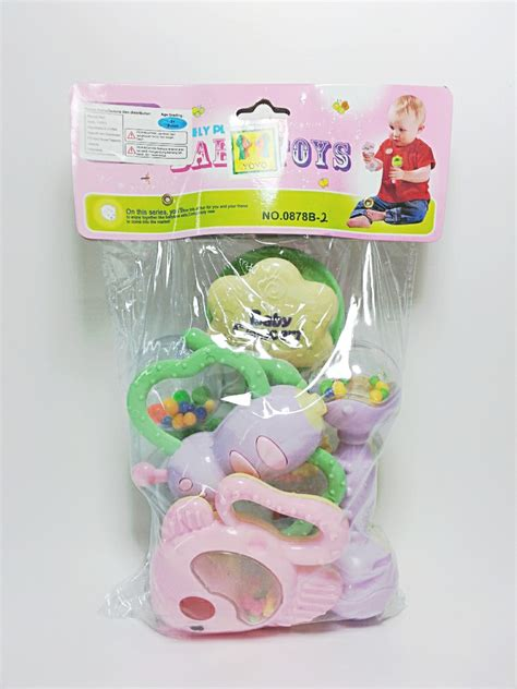Mainan Bayi Baby Rattle 4 Pcs by Jual Baby Rattle 6 Pcs Happy Toys